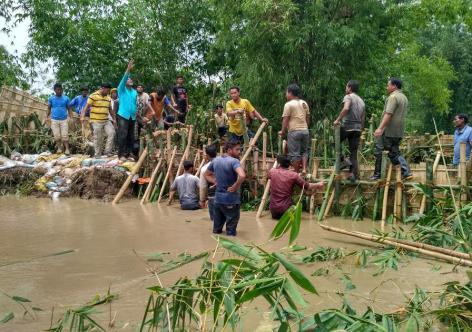 Flood at Keirang