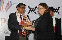 Mukesh Sahay, IPS, ADGP, CID, Assam awarded the Impulse Model's Token of Recognition