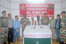 NSCN (K) cadres surrender