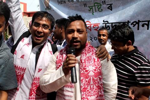Bihu enthralls assamese crowd in north delhi assam times for Assamese cuisine in delhi