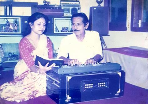 File photo: Ajit Singha with his wife Ruby Singha