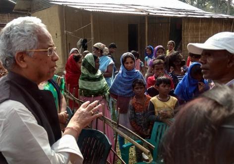Congress leader Tarun Gogoi visits Borhola
