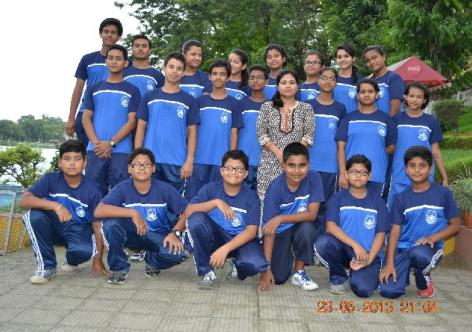Assam State Rowing team