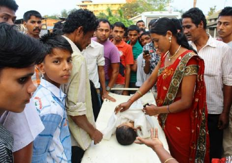 Uproar over a child's death at Golaghat civil hospital