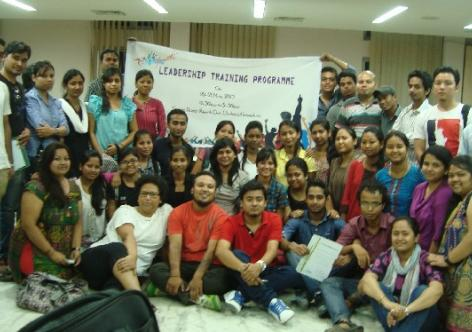 Training on Social Change for Youth by FST