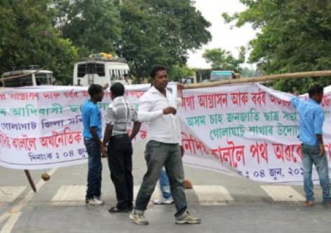 Indefinite economic blockade against Nagaland