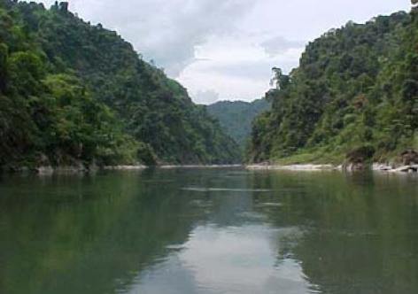 Sobansiri River at Gerukamukh