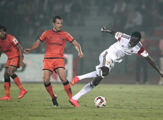 Kondwani Mtonga scored the only goal for NorthEast United FC