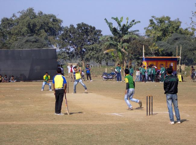 Day-night cricket tournament at Krishnai