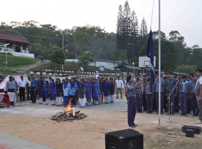 Dwitiya Sopan Testing camp held at Haflong