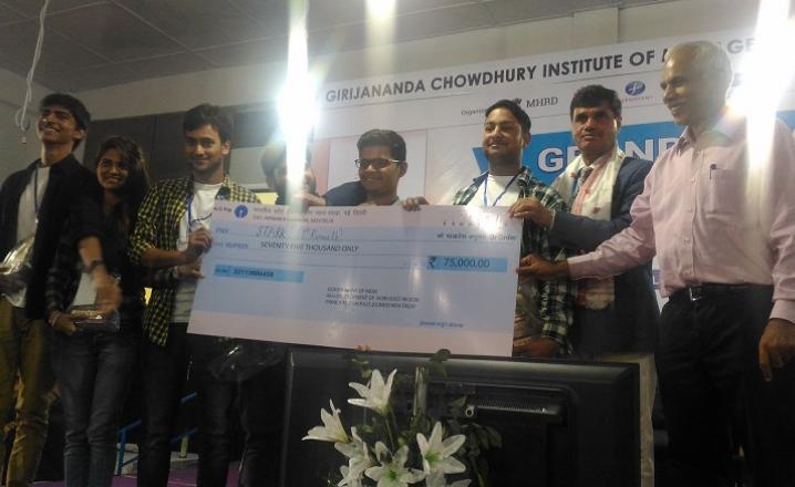 1st runners up: Stark, MM Engineering College, Mullana, Ambala
