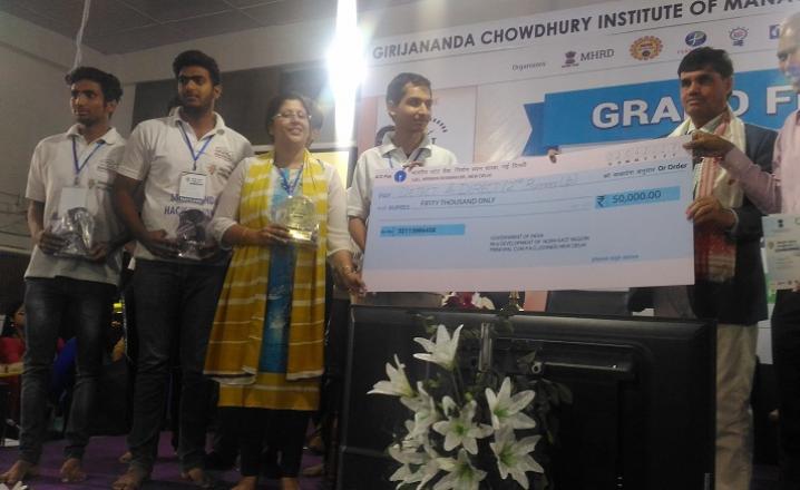 2nd runners up- Detect & Direct, Dronacharya College of Engineering, Gurgaon