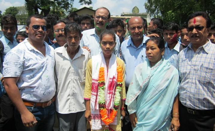 Nirupama Roy, Bajali HS College