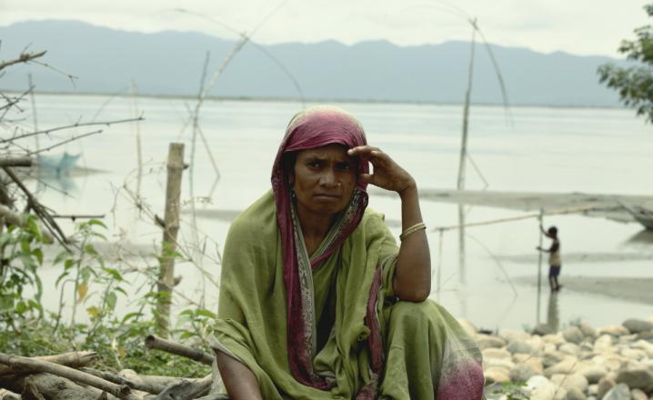 During the devastating Flood in 2012 in Assam