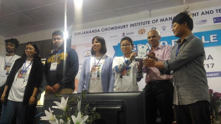 inspirational award for Matrix, Assam Don Bosco University, Azara, Guwahati