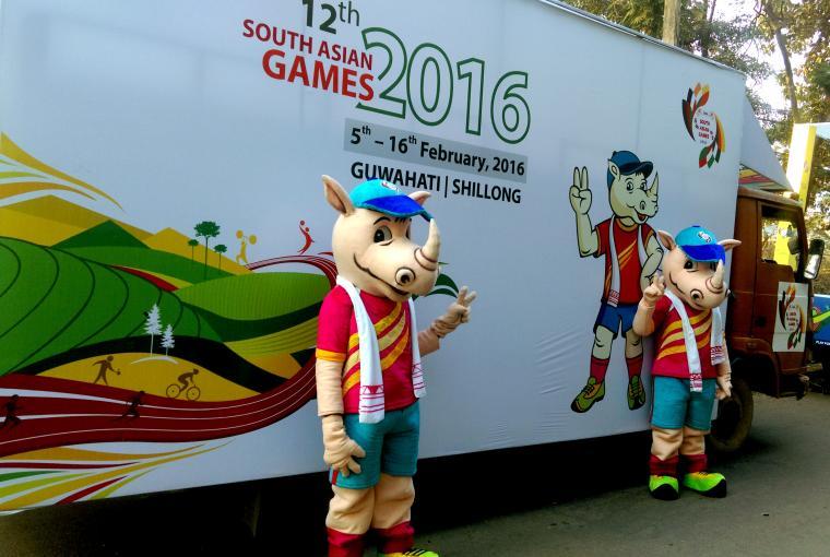 Tikhor1 - Asian Games Guwahati