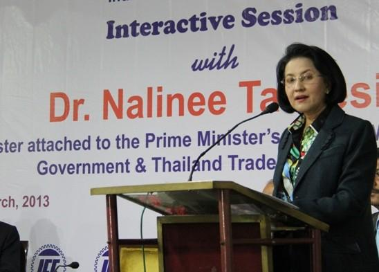 Dr. Nalinee Taveesin Permanent Representative, Prime Minister's Office (PMO), Royal Thai Government