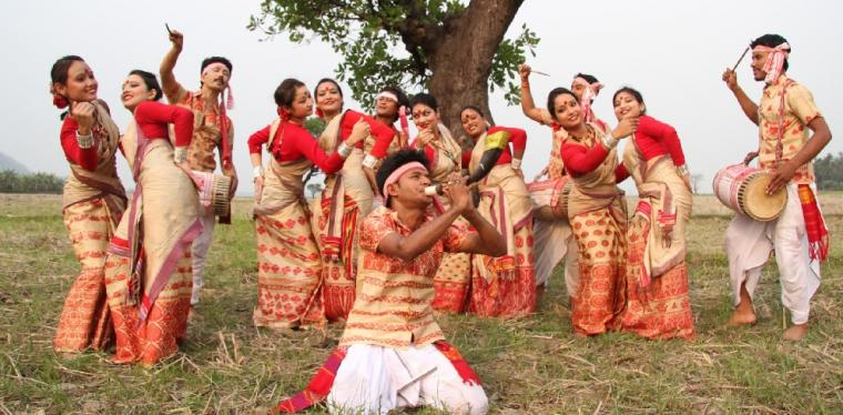 essay on bihu festival of assam Magh bihu is an important harvest festival celebrated in january by assamese  people living in assam, india read about festivals and tourism in assam.