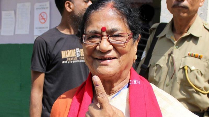 Bijoya Chakraborty votes