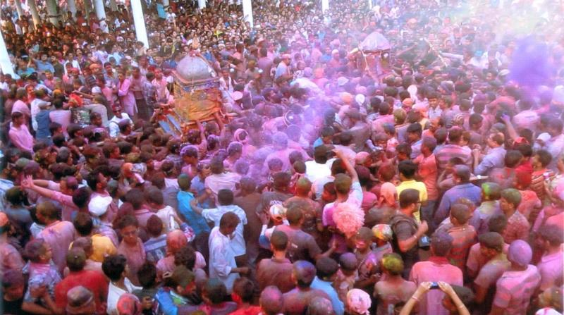 A scene from 'Holi – The Spirit of Colours'