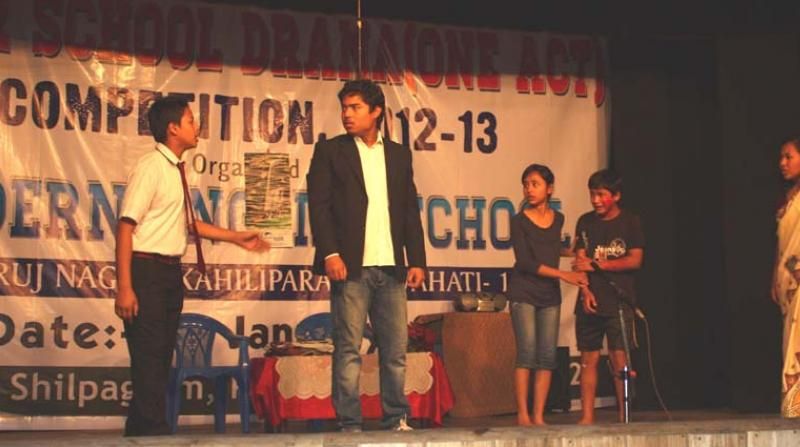 Promoting Children Drama for a better society