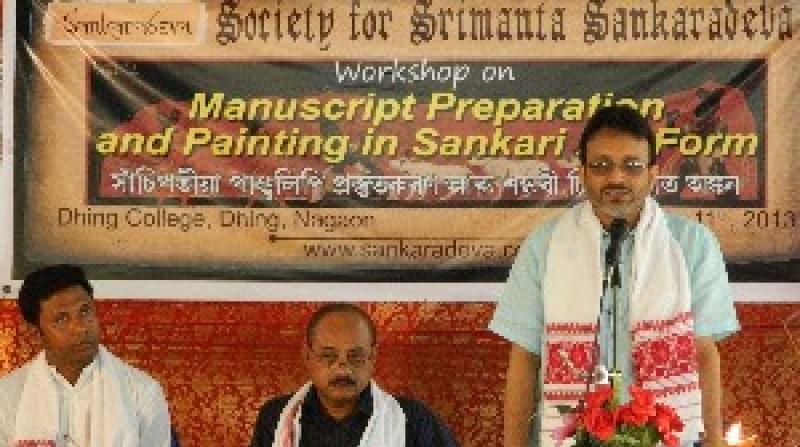 Manuscript workshop
