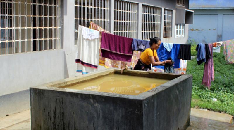 Haflong Civil Hospital lacks water treatment facility