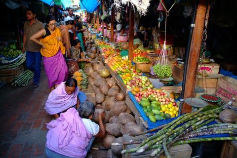Women taking matters into their own hands – Ima Market. Photo: Ashish Chopra