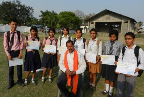 Science competition at Udalguri