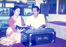 File photo: Ajit Singha with his wife Ruby Singha