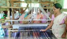 FST supported weaving center at Sipajha