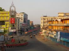 Indefinite curfew at Dimapur