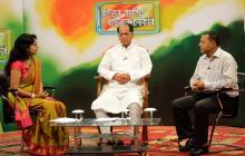 Chief Minister Tarun Gogoi participating at Raijor Podulit Raijor Sarkar