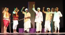 A scene from PHULAGURIR DHEWA directed by Deepak Bora
