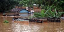 Devastating flood at Goalpara area. © Photos by UB Photos