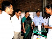 Sadhana Hojai,DC and NC Boro,IS,Udalguri visiting science models