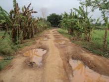 Deplorable road connecting Kheroni to Lamshakhanj