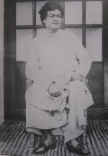 Swami Vivekananda during his Shillong visit