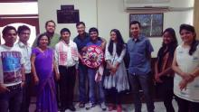 Anurag Saikia felicitated by INLI Foundation