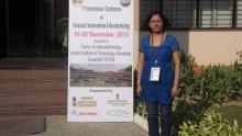 Dr. Sontora K Baruah at 3rd ICANN Conference