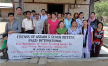 FASS distributes solar lamps in Changlang