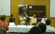 Interaction on development trends in North East held in Delhi on August 9