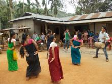 Maiden Bihu workshop, Garbhanga Reserve Forest - photo by Alex