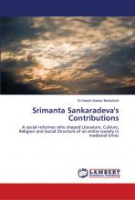 Lambert Academic Publishing publishes book on Srimanta Sankardeva