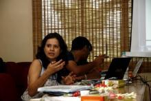 Ajita Tiwari, Indian Network on Ethics and Climate Change