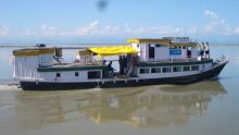 Boat Clinics on the Brahmaputra