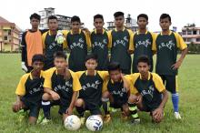 Winning team from Golaghat (match 16) beat Jorhat by 1 goal