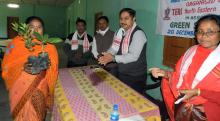 Farmers training on quality planting material and crop production at Lakhimpur in Darrang