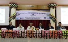 Prof. Sunandan Baruah, Prof Nayan Sharma, Prof Nirmal Kumar Chowdhury, Dr Stephen Mavely, Kumar Sanjay Krishna IAS, Prof. Manoranjan Kalita