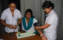 Health camp for scribes concludes in GNRC hospital on December 28, 2012
